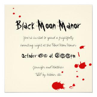 De bloedige Uitnodiging van Halloween van de