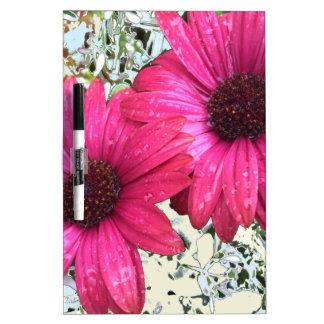 De Bloei van de tuin - Roze Whiteboards