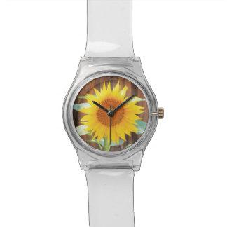 De Bloei van de zonnebloem Horloge