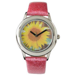 De Bloei van de zonnebloem Horloges