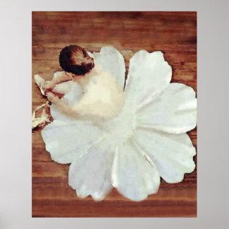 De Bloei van het ballet Poster