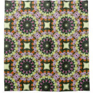 De Bloem Mandala, Bloemen mandala-stijl van tulpen Douchegordijn
