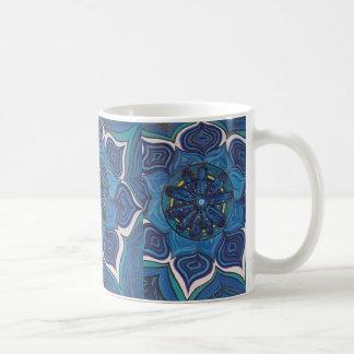 De Bloem van Chakra Lotus van de keel Koffiemok