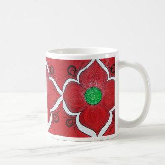 De Bloem van Chakra Lotus van de wortel Koffiemok