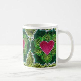 De Bloem van Charka Lotus van het hart Koffiemok