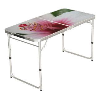 De Bloem van de hibiscus Beer Pong Tafel