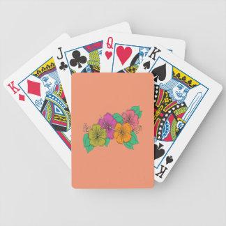 De Bloem van de hibiscus Poker Kaarten