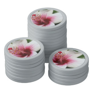 De Bloem van de hibiscus Pokerchips