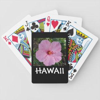 De Bloem van de Hibiscus van Hawaï Pak Kaarten