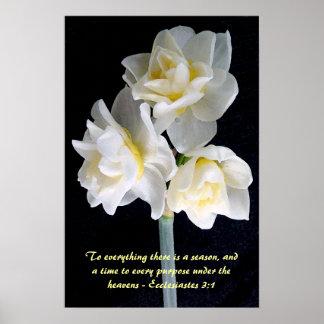 De Bloem van de jonquille - 3:1 Ecclesiastes Poster