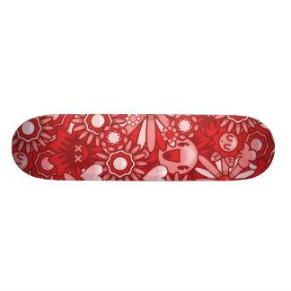 De Bloem van de Macht van Clooci 20,0 Cm Skateboard Deck