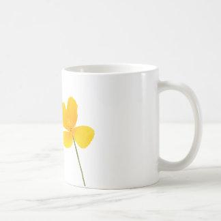 De Bloem van de Papaver van Californië Koffiemok