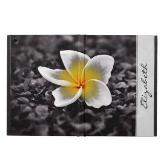 De Bloem van Frangipani Hawaï van Plumeria iPad Air Hoesje