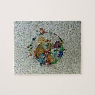 De Bloem van het Mozaïek van Gaudi Puzzel