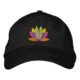 De Bloem van Lotus Geborduurde Pet