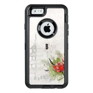 De Bloem van Lotus OtterBox Defender iPhone Hoesje