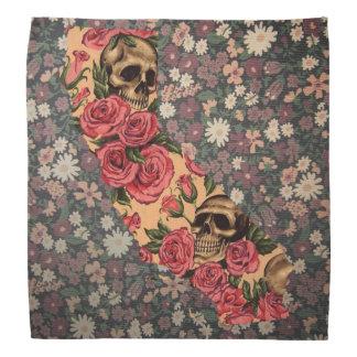De bloemen bandana van de Schedel van de Staat van