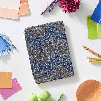 De bloemen Bloemen van de Zigzag van Paisley van iPad Pro Cover