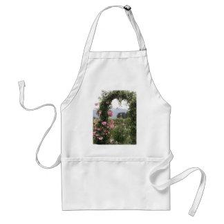 De bloemen Boog van de Tuin Standaard Schort