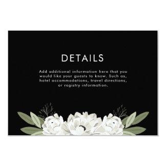 De bloemen Details van de Twijgen van het Huwelijk 8,9x12,7 Uitnodiging Kaart