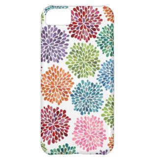 De Bloemen Iphone 5 van de Dahlia van de Waterverf