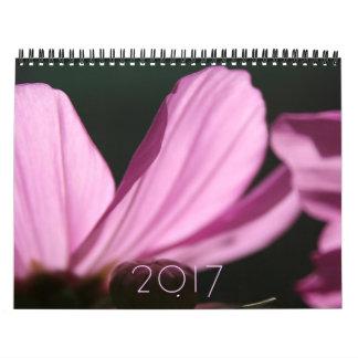 De bloemen Kalender van de Douane 2017 van de