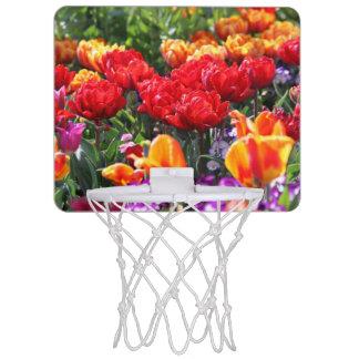 De Bloemen Karmozijnrode Golven van Falln Mini Basketbalring