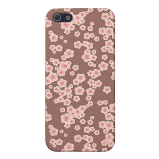 de bloemen kers komt roze bloemen tot bloei iPhone 5 case
