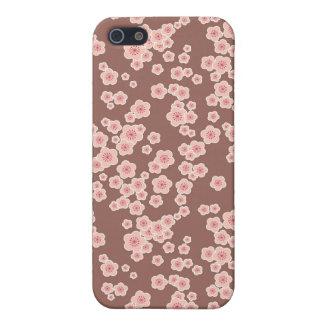 de bloemen kers komt roze bloemen tot bloei iPhone 5 hoesje