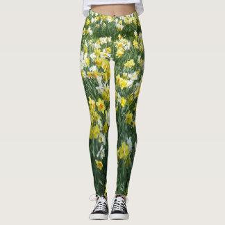De Bloemen Legging van de Lente van gele narcissen