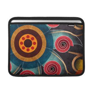 De bloemen Lucht van Macbook van de Kunst van de MacBook Beschermhoes