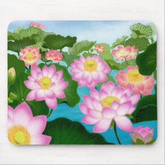 De Bloemen Mousepad van Lotus Muismat