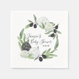 De Bloemen Rustieke en Romantische Gardenia van Papieren Servetten