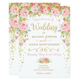 De bloemen Uitnodiging van het Huwelijk, de Tuin