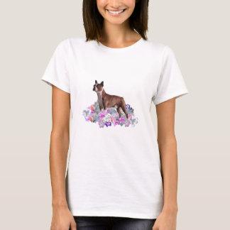 De Bloemen van Boston Terrier T Shirt