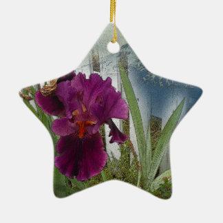 De Bloemen van de berg Keramisch Ster Ornament
