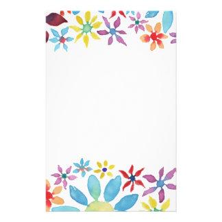 De Bloemen van de Kleur van het water Briefpapier