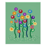De bloemen van de lente poster