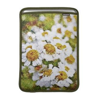 De Bloemen van de margriet - het Schilderen de Beschermhoezen Voor MacBook Air