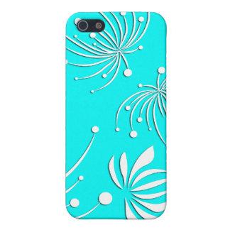 De Bloemen van de sneeuw in de Vector van de Lente iPhone 5 Cases