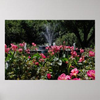 De Bloemen van de tuin Poster