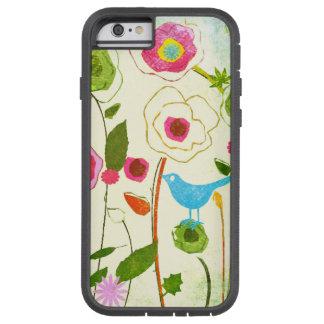 De Bloemen van de Tuin van de waterverf Tough Xtreme iPhone 6 Hoesje