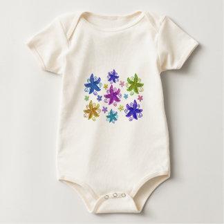 De Bloemen van de vlinder Baby Shirt