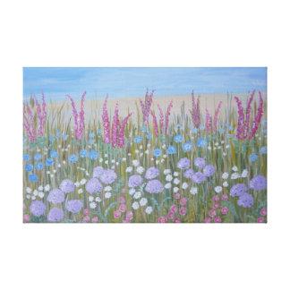 De Bloemen van de zomer Canvas Print