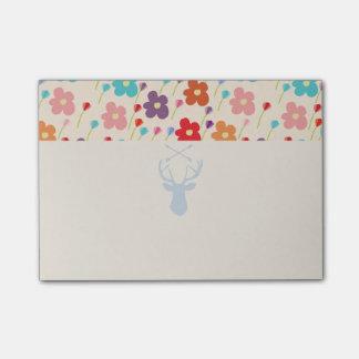 De bloemen van de zomer post-it® notes