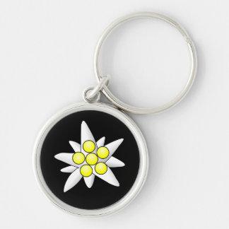 De Bloemen van het edelweiss Sleutelhanger
