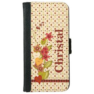 De Bloemen van het land iPhone 5 Portefeuille Hoesje
