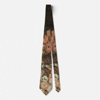De Bloemen van het stilleven, Vintage Bloemen Stropdas