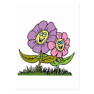 De Bloemen van Smiley Briefkaart