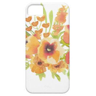De bloemen van waterverven barely there iPhone 5 hoesje